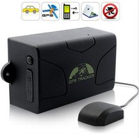 battery canada - Weatherproof Real Time Vehicle GPS Tracker GPS GPRS GSM Tracker TK104 with Built in Battery Alarm Auto Standby Days