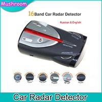 Wholesale 2015 Brand New Rushed Cobra Xrs Car Laser Anti Radar Detector Russian English Voice LED Display Full Band High Performance Auto Sp
