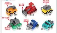 Wholesale Toy cars Various types of military aircraft model sports car engineering vehicles Christmas toys