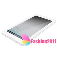 2015 El más nuevo de doble núcleo PC 3G de la tableta de 7 pulgadas 1024 * 600 de la tableta MTK8312 Teléfono Call 1G 8GB Android 4.4 dual GPS Cámara phablet DHL libre 002758