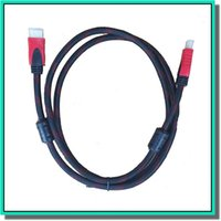 tv high definition - 1 V M HDMI cable p I p digital high definition format with black and red envelope for TV