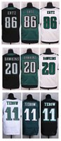 eagles football jerseys - Top Quality Cheap Eagles tim tebow Zach Ertz Brian Dawkins Stitched Elite Authentic American Football Jerseys Mix Order