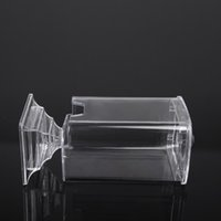 arts cosmetic box - Transparent Makeup Cotton Pad Box Nail Art Remover Paper Wipe Holder Container Storage Case Cosmetic Nail Art Care Tool