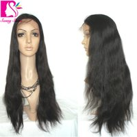 affordable full lace wigs - Affordable Peruvian Straight Full Lace Human Hair Wigs For Black Women Straight Lace Wig Best Human Hair Wigs For Sale
