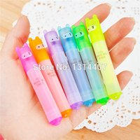 Wholesale Mini Stationery Highlighter Pen color