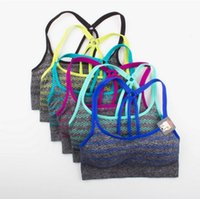 Wholesale The new default by professional shockproof women s movement back Absorb sweat permeability yoga running vest