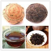 authentic chinese foods - 100g Yunnan Puer Tea Authentic Chinese Pu er ripe teaTuocha Health puerh tea natural material green food keep fit burn fat