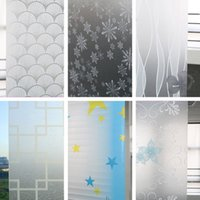 Wholesale New Privacy glass film Home Decoration Beauty Children Decor Decorative Window Film cmx100cm