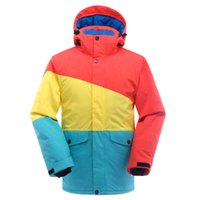 best ski clothing - 2015 new style Unisex for men and womenski jacket colorful personatily high quality out door warm clothing breathable best price