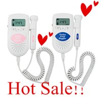 baby heartbeat sound - CE Proved Fetal Doppler Fetal Portable Heartbeat Detector MHz Probe LCD Pocket Prenatal Heart Baby Sound Monitor Fetal Doppler