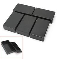 Wholesale 5Pcs Plastic Electronic Project Box Enclosure Instrument Case x60x25mm