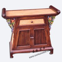 antique tv console - Thai specialties home crafts ornaments wood furniture decoration cabinet living room TV cabinet Southeast Console Tables