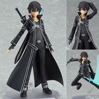 art tv online - Anime SAO Sword Art Online Kazuto Kirito PVC Figure cm in box figma