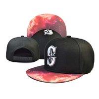 Marineros baratos Snapbacks más calientes del béisbol del Snapback Hats Caps ajustables Sombrero Deportes Caps Bola Calidad Snap Back Cap Moda gorra Top Caps