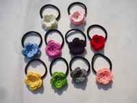 Wholesale Yarn flower hair accessory headband hair rope rubber band tousheng hair accessories hair accessory