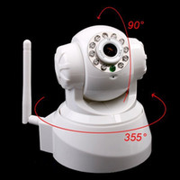 Wholesale Night Vision IR Webcam Web CCTV Camera WiFi Wireless IP Camera Pan Tilt Security