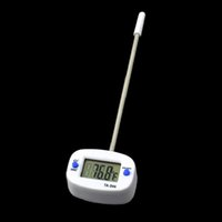 Wholesale DHL Kitchen Cooking Food Meat Probe Digital BBQ Thermometer Dropshipping TK0444