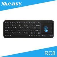 android touchpanel - Original Measy RC8 G Wireless Mini Keyboard Air Mouse with TouchPanel for Android TV Box Smart TV