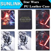 air force war - 2016 Star Wars The Force Awakens Stormtrooper Darth Vader Case Folding Folio Stand PU Leather Cover for iPad Mini Air Air2