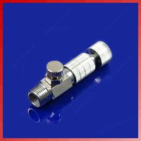 Wholesale Airbrush Quick Release Disconnect Coupler Air Flow Control Coupler Release order lt no track