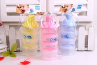Wholesale Hot new portable baby bottles milk dog bottles containers th floor without BPA free milk box