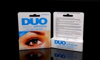 Wholesale DUO WATER PROOF FALSE EYELASH ADHESIVE EYELASH GLUE White Black