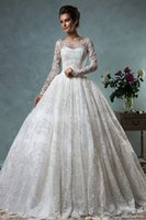 best black skirt - best selling long sleeves puffy wedding dresses vintage lace ball gown wedding gowns bateau neckline bridal gowns