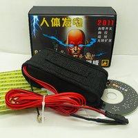 big electric generator - Ultimate human body electric shock generator new version Electric Touch magic props magic tricks