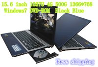 Wholesale Large Size Laptop inch Intel U GHz DVD ROM G G Windows camera English game Computer N156