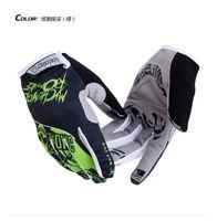 Wholesale New Hotsale Bat Fox Motorcycle Gloves Running Sports Men Red Blue Green Racing Motor Cycling Gloves Full Finger