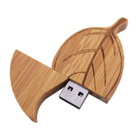 bamboo usb sticks - 16GB Bamboo leaves USB Drive Memory Flash Pendrive Stick True Storage Genuine Good Quality