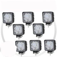 Wholesale New W LED Work Light Flood Beam Square Lamp x4 Driving Outdoor Boat