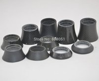 Wholesale New matte and glossy quot bicycle carbon fiber headset spacer mtb bike washer top cap fork cover mm mm mm mm mm