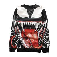 big men s graphic sweatshirt - new D sweatshirt graphic print big mouth d hoodies hip hop punk hoodies plus size pullovers for men