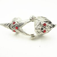 alternative engagement rings - Min Order Alternative Dragon Head Alloy Top Quality Ring For Men Silver Pc