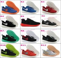 b lights fashion - 2016 Roshe Run Shoes Fashion Men s Women s Roshe Running London Olympic Walking Sporting Shoes Sneakers