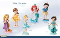 ball ariel - 2016 New One Piece Dragon Ball Juguetes Little Princess Growing Up Collection Jasmine Belle Ariel Snow Rapunzel Cinderella