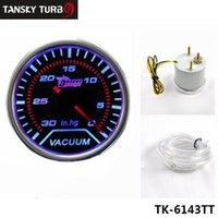 Wholesale Tansky Universal Cars Vehicle Meter Gauge quot mm Vacuum Car Motor Gauge LED auto gauge car meter TK TT