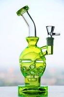Wholesale 100 Real hookahs Percolators Smoking new glass bongs Faberge Egg Waterpipe with birdcage perc mm Water Pipes fab egg glass water pipes