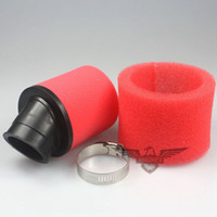 50cc dirt bikes - High Preformance mm Bent Foam Air Filter Cleaner for cc cc cc cc ATV Dirt Pit Bike