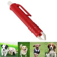 Wholesale Mite Acari Tick Removal Tweezers Pet Dog Cat Rabbit Flea Puppies Groom Tool G01208