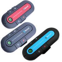 Wholesale Silm Portable Multipoint Wireless Bluetooth Sun Visor In Car Speakerphone