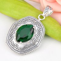 americans best eye - Best Wholesle Pieces Delicat Fire Horse Eye Green Quartz Crystal Gems Sterling Silver USA Israel Wedding Engagement Pendants Weddings