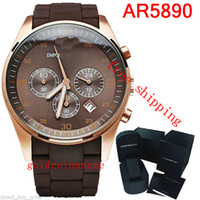 Wholesale Watch Wrist Watch Man fine steel male table hunter series three eye ar5890 stopwatch