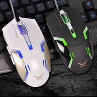 Wholesale Horsemen of e sports game stuyle mouse wired mouse cf lol the mouse king to recognize usb notebook computer mouse parker