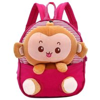 Wholesale Your Gallery Baby s Cute D Monkey Little Backpack Plush Bag for Toddlers Kids