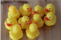 baby water bags - Bag Baby Cute Bath Rubber Ducks Squeaky Water Play Toy