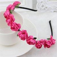 Cheap wedding garland Best flower headbands