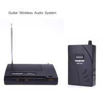 bass guitar kit - For Electric Guitar Bass Wireless Audio System Amplifier Transmission Transmitter Receiver Kit New Arrival I467