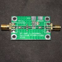 amplifier vhf - MHz Gain dB Low Noise LNA RF Broadband Amplifier Module HF VHF UHF